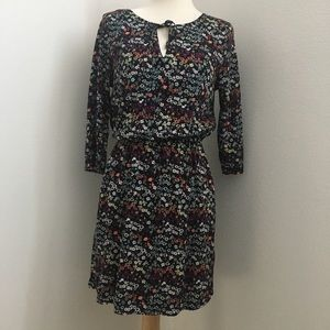 Flowered pattern midi dress. Divided by H&M